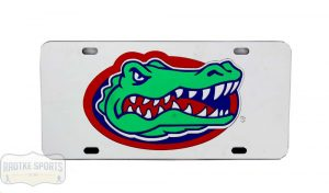 Florida Gators Officially Licensed NCAA Laser Tag Mirror License Plate -0