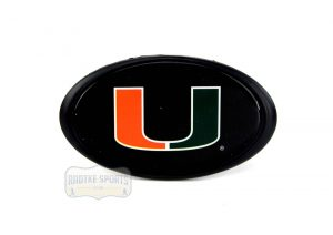 Miami Hurricanes Officially Licensed NCAA Hitch Cover-0