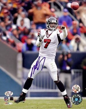 Michael Vick Autographed/Signed Atlanta Falcons 8x10 NFL Photo #1-0