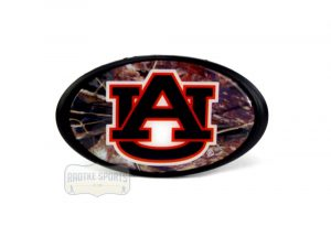 Auburn Tigers Officially Licensed NCAA Hitch Cover - Camouflage -0