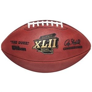 Authentic Wilson Official Super Bowl XLII Full Size NFL Football-0
