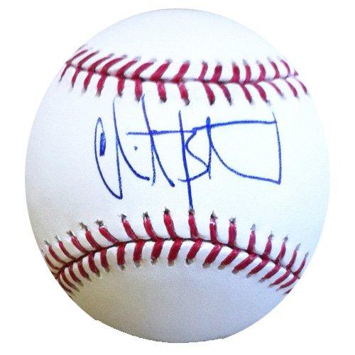 Christian Bethancourt Signed/Autographed Atlanta Braves Rawlings Baseball-0