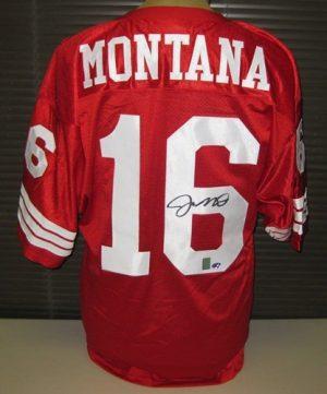 Joe Montana Autographed San Francisco 49ers Jersey-0