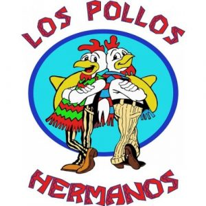 Iconic Los Pollos Hermanos Full Size 16x16 Breaking Bad Poster Photo-0