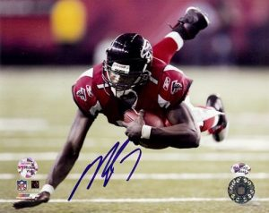 Michael Vick Autographed/Signed Atlanta Falcons 8x10 NFL Photo #12-0