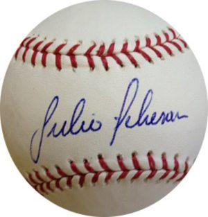 Julio Teheran Signed/Autographed Atlanta Braves Rawlings Baseball-0