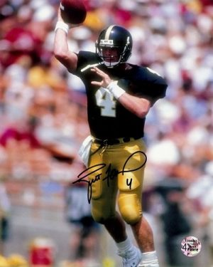 Brett Favre Autographed Southern Mississippi 8x10 Photo-0