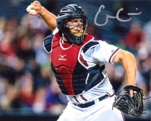 Evan Gattis Signed/Autographed Atlanta Braves 8X10 Catching-0