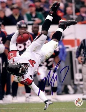 Michael Vick Autographed/Signed Atlanta Falcons 8x10 NFL Photo #4-0