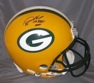Desmond Howard Signed Packers Proline Helmet w/SB MVP-0