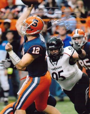 Derek Wolfe Signed/Autographed Cincinnati Bearcats 8x10 Photo-0