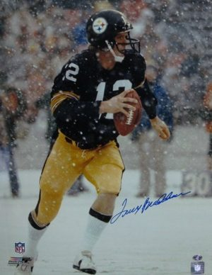 Terry Bradshaw Autographed Steelers 16x20 Photo-0