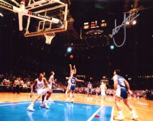 Christian Laettner Signed 8x10 Photo The Shot Duke NCAA-0
