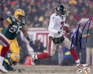 Michael Vick Signed Atlanta Falcons 8x10 Photo #7-0