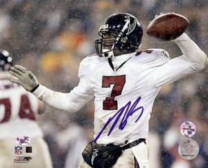 Michael Vick Autographed/Signed Atlanta Falcons 8x10 NFL Photo #8-0