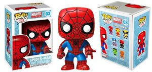 Funko Pop! Marvel Series Marvel Universe Spider-Man #03 Vinyl Iconic Bobblehead-0