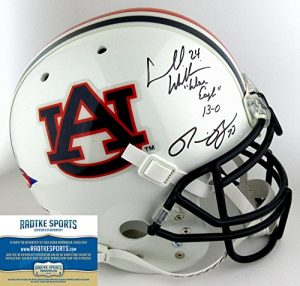 Ronnie Brown Signed/Autographed Auburn Tigers Full Size Schutt Authentic Helmet-0