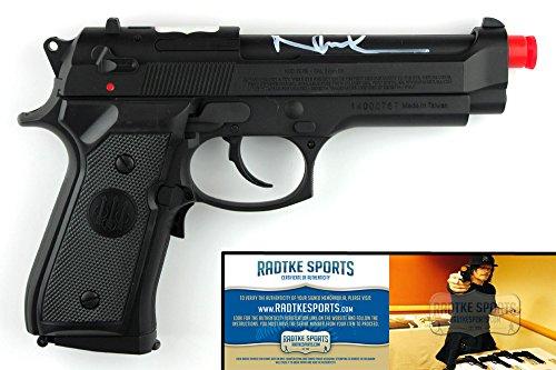 Norman Reedus Autographed/Signed The Boondock Saints Airsoft Replica Black Beretta Pistol-0