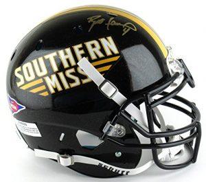 Brett Favre Autographed Southern Mississippi Proline Helmet-0