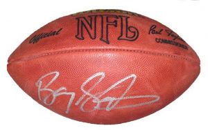 Barry Sanders Autographed/Signed Official Wilson Authentic NFL Football-0