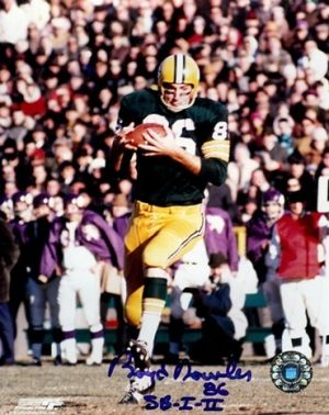 Boyd Dowler Autographed Packers 8x10 Photo Action Shot-0