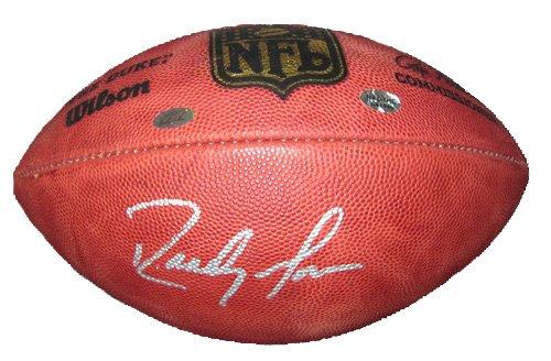 Randy Moss Autographed Wilson NFL Football Patriots-0