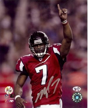 Michael Vick Autographed/Signed Atlanta Falcons 8x10 NFL Photo #13-0