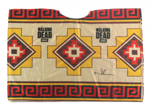 Norman Reedus Signed Officially Licensed The Walking Dead Poncho-0