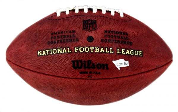 Adrian Peterson Signed Minnesota Vikings Authentic Stamped Football -32574