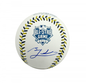 Ben Zobrist Signed Rawlings Official 2015 World Series Baseball-0