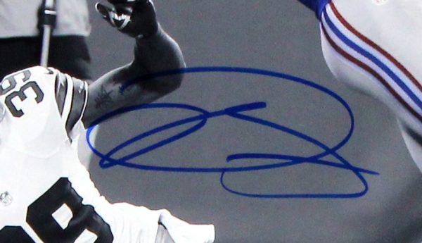 Odell Beckham Jr Signed New York Giants 16x20 NCAA - The Catch - Spotlight Action Photo-25822
