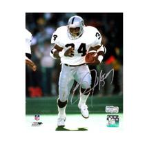 half off b18e5 aa400 Bo Jackson Signed Oakland Raiders 8x10 White Jersey Photo