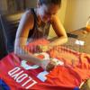 Carli Lloyd Signed US Women's Soccer Red Custom Jersey-21502