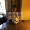 Carli Lloyd Signed FIFA Adidas Soccer Ball-21500