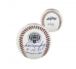 Dale Murphy Signed MLB 2017 Atlanta Braves SunTrust Park Inaugural Season Baseball - Limited Edition 33/33-0