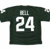 LeVeon Bell Signed Michigan State Spartans Green Custom Jersey -0