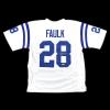 Marshall Faulk Signed Indianapolis Colts White Custom Jersey-19459