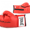 Roberto Durán Signed Red Everlast Boxing Glove -0