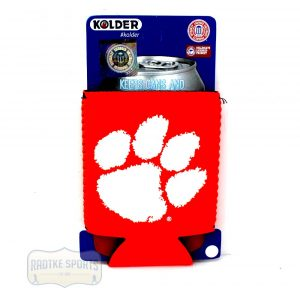 Clemson Tigers Officially Licensed 12oz Neoprene Can Huggie - Orange-0