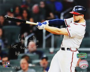 "Ender Inciarte Signed Atlanta Braves 8x10 MLB Photo With ""1st SunTrust Home Run"" Inscription - Limited Edition 1 Of 111-0"