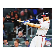 "Ender Inciarte Signed Atlanta Braves 8x10 MLB Photo With ""1st SunTrust Home Run"" Inscription - Limited Edition Of 111-18182"