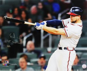 Ender Inciarte Signed Atlanta Braves 16x20 MLB Photo - Limited Edition of 111-0