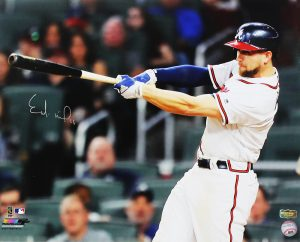 Ender Inciarte Signed Atlanta Braves 16x20 MLB Photo-0