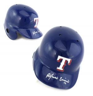 Alfonso Soriano Signed MLB Texas Rangers Batting Helmet-0