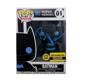 Ben Affleck Signed Funko Pop! DC Super Heroes Batman #01 Action Figure - Blue Ink-0