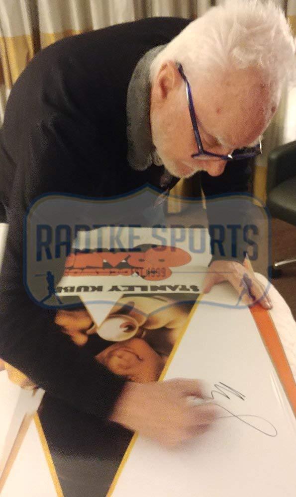 Malcolm McDowell Signed A Clockwork Orange Framed Poster - White-32654