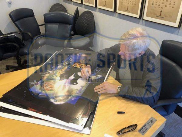 Harrison Ford Signed Star Wars Episode VI Return Of The Jedi Framed Movie Poster-32666