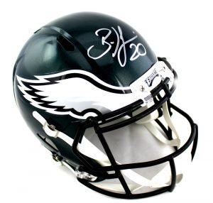 Brian Dawkins Signed Philadelphia Eagles Speed NFL Helmet-0