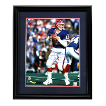 Jim Kelly Signed Buffalo Bills Framed 16x20 NFL Photo-20569
