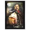 "Jeffrey Dean Morgan Signed The Walking Dead Framed Full Size Eeny, Meeny, Miny, Moe Poster With ""Negan"" Inscription-32633"
